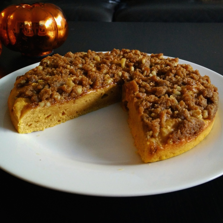 Brown Sugar Pumpkin Coffee Cake